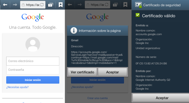 Android ssl