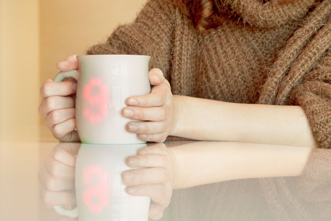Warm cup