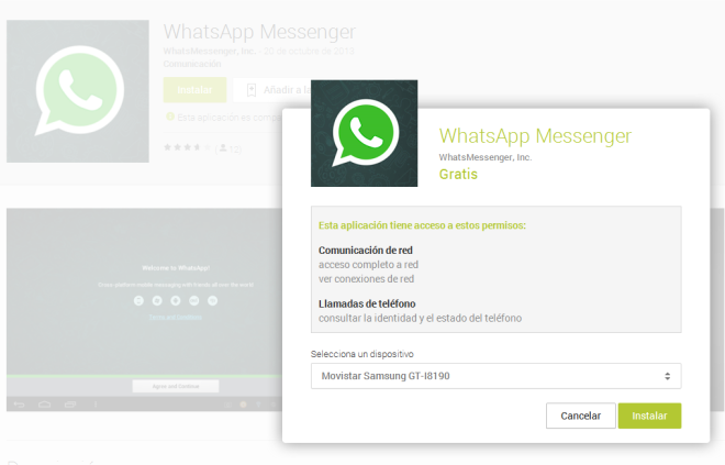 Whatsapp Falso