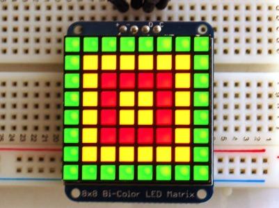 Matriz bicolor 8x8